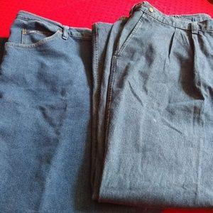 2 Pair Men's Big & Tall Jeans Bundle